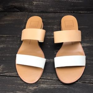 Dolce Vita Two Strap Sandals Size 7.5